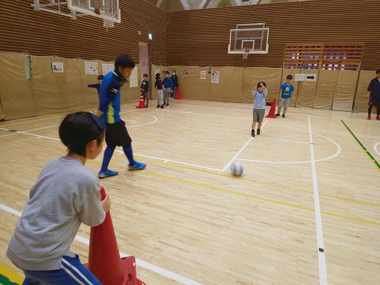 ブラインドサッカー体験教室