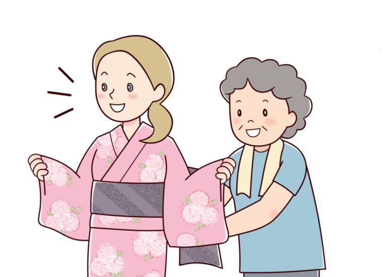 日本の伝統文化にふれてみませんか ゆかた着付け体験教室【港ユネスコ協会主催】